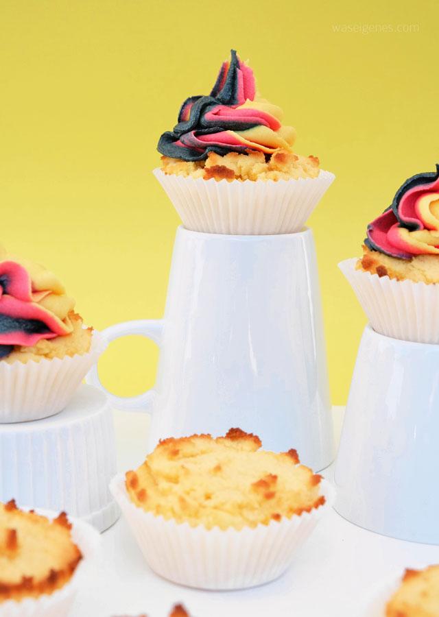 Rezept: low carb Muffins mit Xucker und Kokosmehl | waseigenes.com