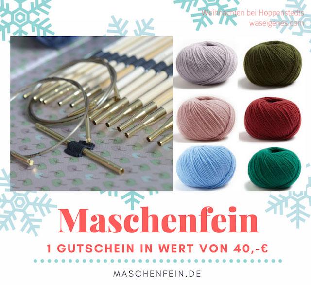 Weihnachten bei Hoppenstedts   Adventskalender 2016   waseigenes.com   Maschenfein