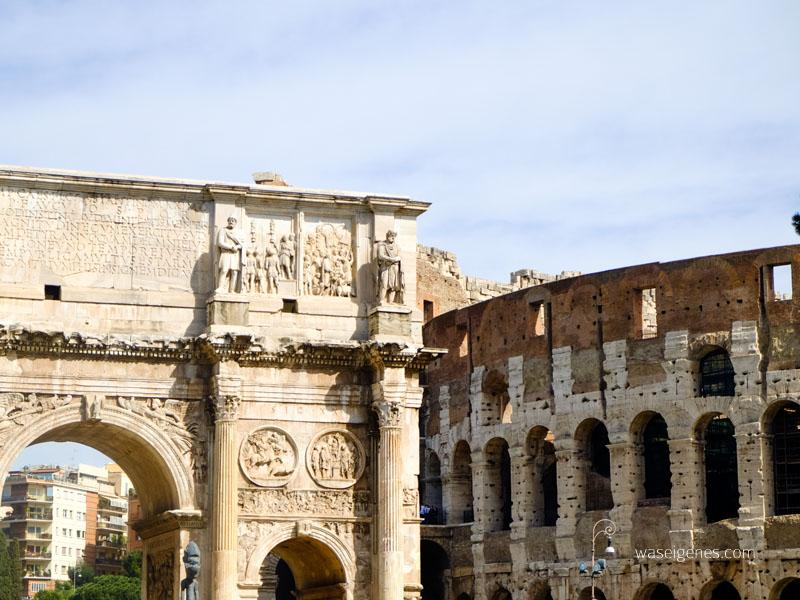 Rom | Kolosseum & Forum Romanum | Reisebericht | waseigenes.com