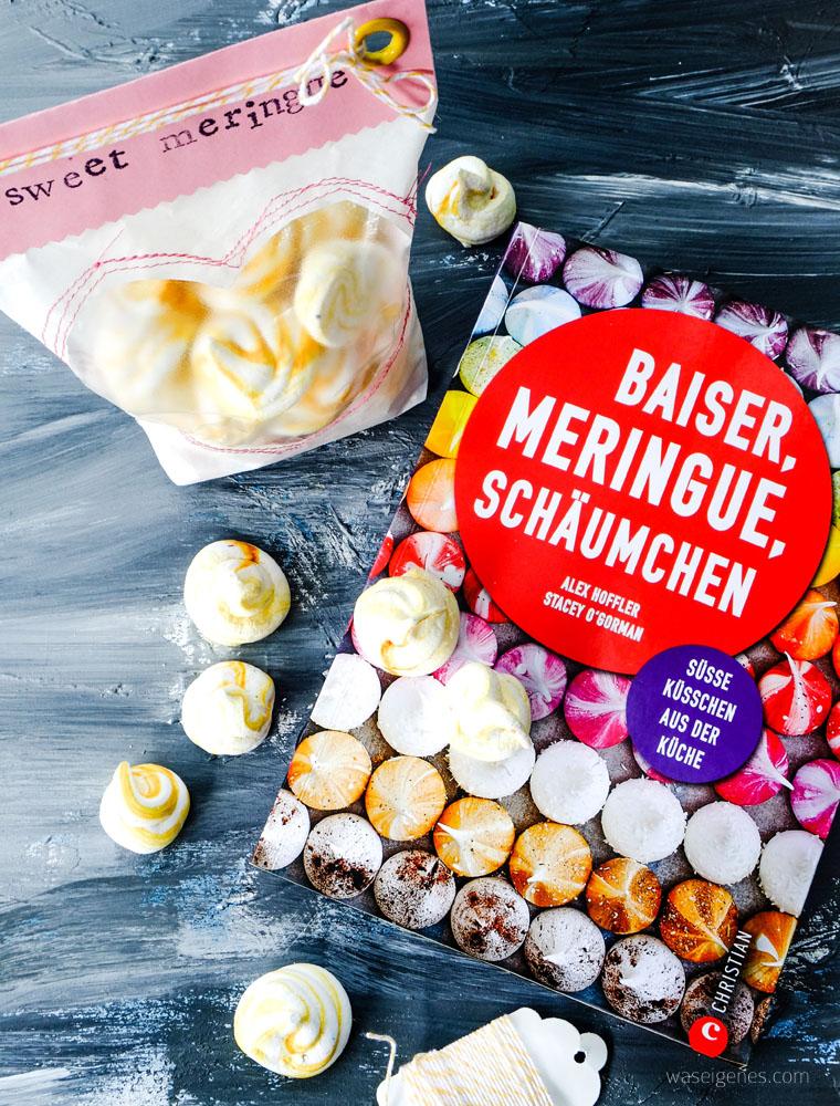 Geschenke aus der Küche: sweet meringue hübsch verpackt | Baiser, Meringue, Schäumchen | Meringue Girls | waseigenes.com