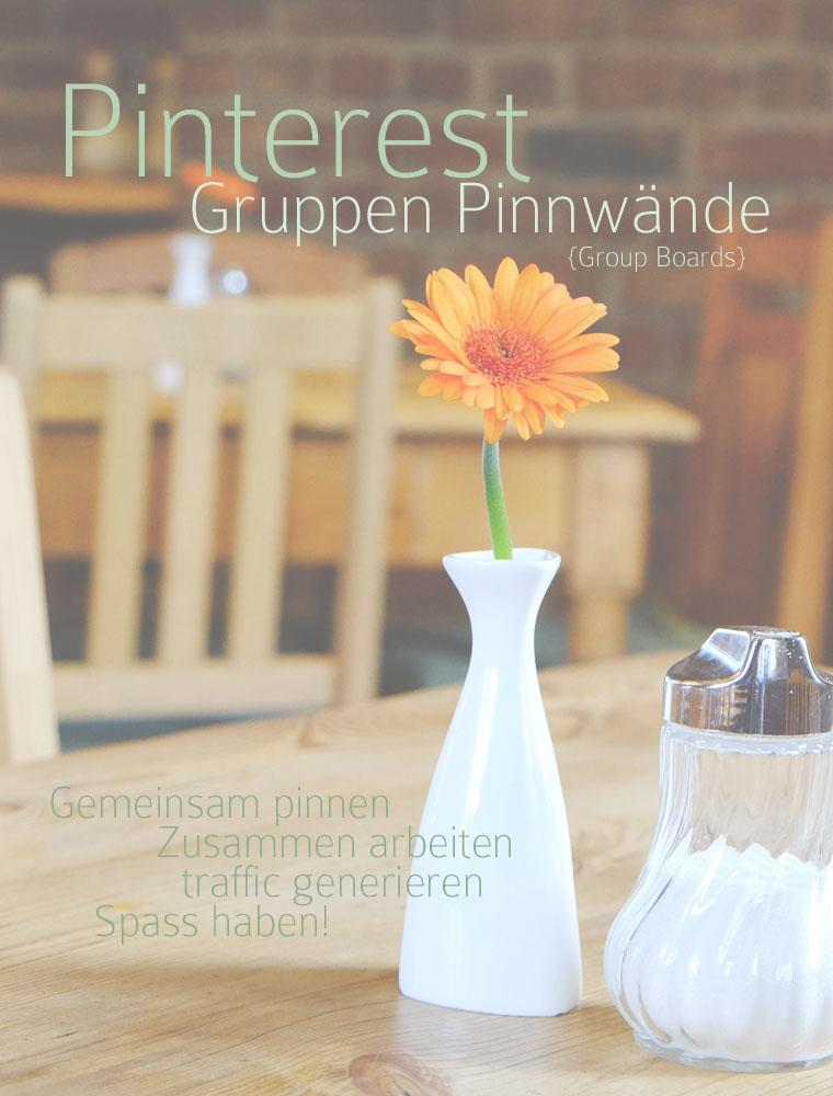 Pinterest Gruppen Pinnwände | vier Tipps rund um Group Boards | waseigenes.com