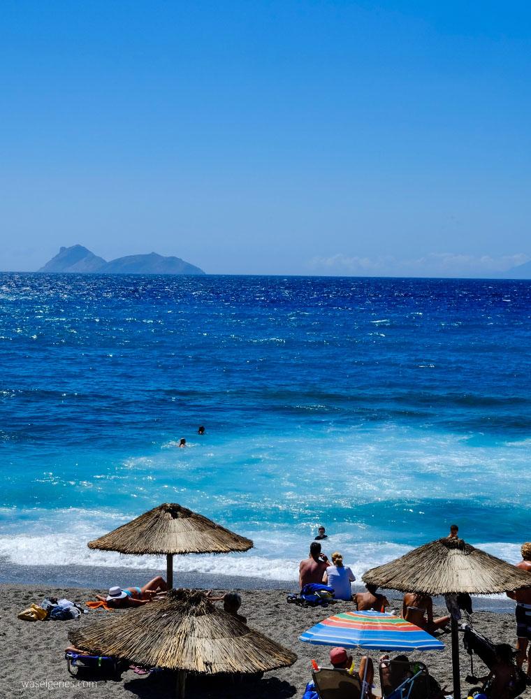 Kreta: Hippie Dorf Matala | Strand | beach |waseigenes.com
