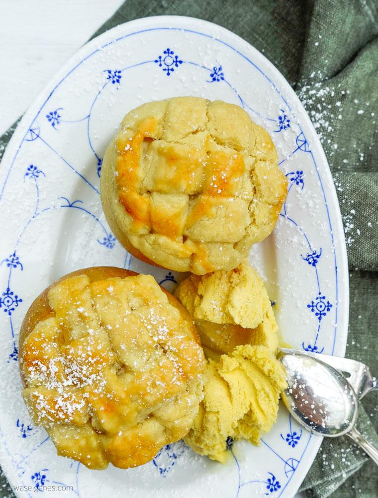 Rezept: Apple Pie Bratapfel | Apple Pie im Apfel | waseigenes.com