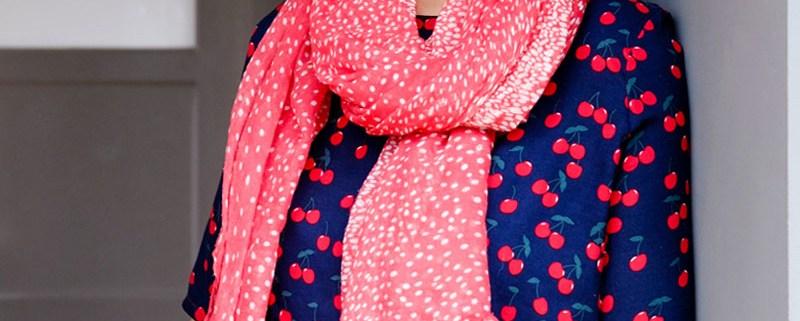 DIY Tunika Bluse Frau Yoko   Kirschen Stoff   waseigenes.com DIY Blog
