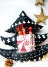 Geschenke aus dem Nähzimmer: Weihnachtsbaum Kissen und Lebkuchenmann Kissen mit Aufbewahrung- und Einstecktaschen | waseigenes.com DIY Blog