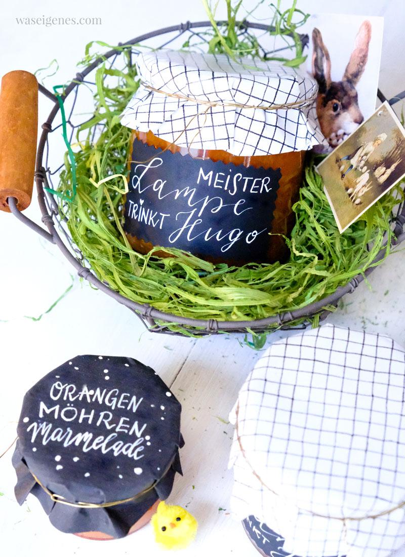 Rezept: Orangen Möhren Marmelade   Meister Lampe trinkt Hugo   Ostermarmelade   waseigenes.com