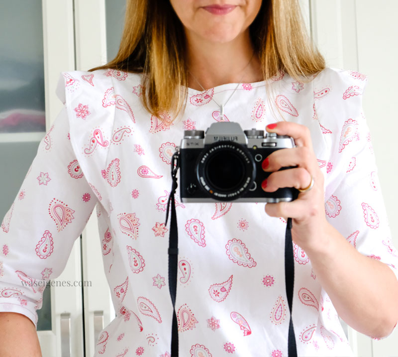 DIY Bluse: selbst genähte Bluse, Schnittmuster Frau Smilla ...