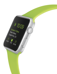 Die Apple Watch. Foto: (c) Apple