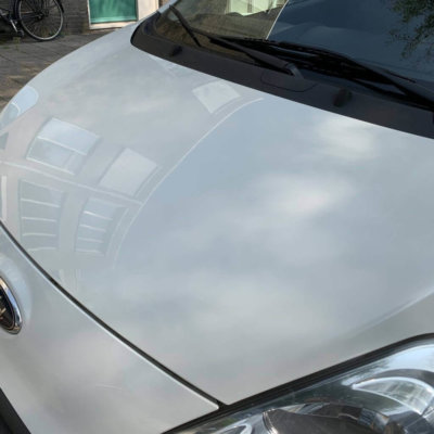Buitenkant reinigen Hars auto