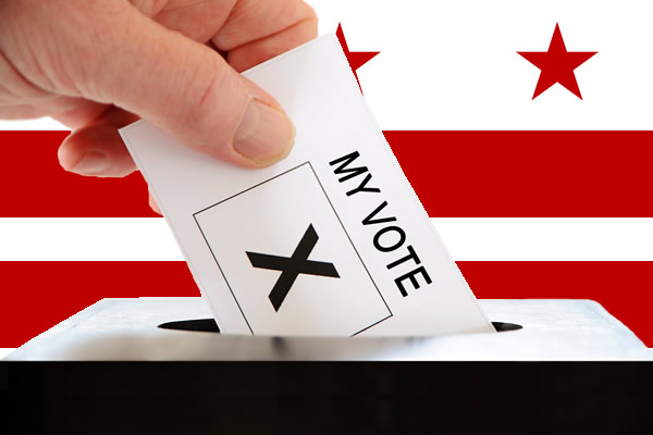 voting, District of Columbia, independent voters, gay news, Washington Blade