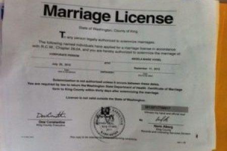 marriage certificate washington » Free Professional Resume ...