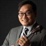 Jang Kevin with violin