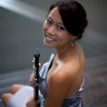 Emily Tsai with oboe