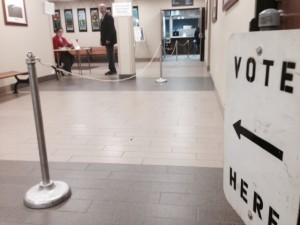 election, polling place