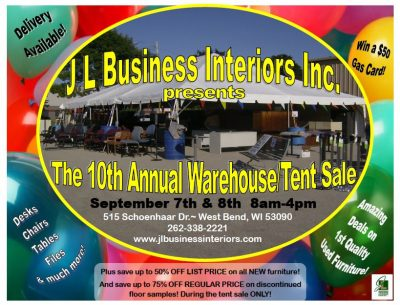 Jl Business Interiors Inc Prepping For 10th Annual