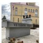 Veterans Plaza in West Bend