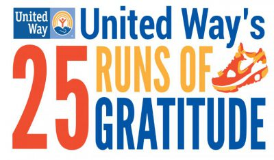United Way's 25 Runs of Gratitude
