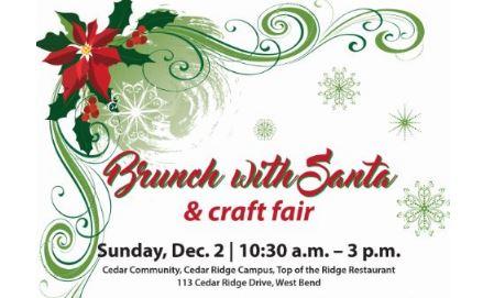 Santa Brunch and craft show