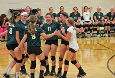 Kettle Moraine Lutheran volleyball