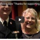 LeAnn Boudwine says thanks