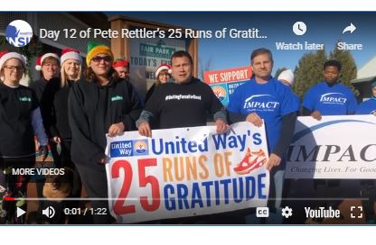 25 RUns of Gratitude at Washington County Fair Park