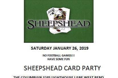 Sheepshead and spaghetti at The Columbian