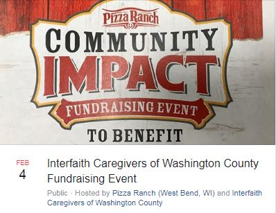 Interfaith and Pizza Ranch