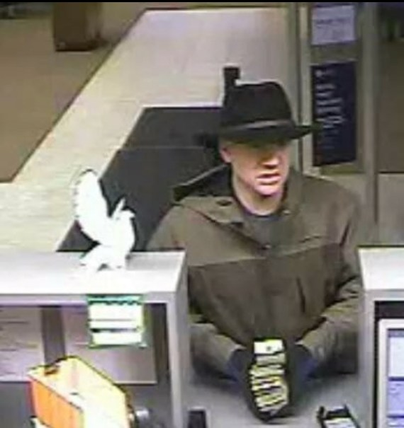 Chase Bank robbery suspect