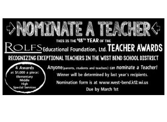 Rolfs Education Award