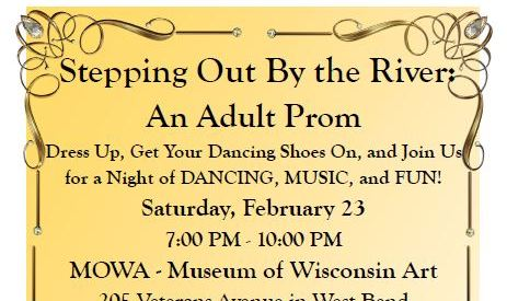 Stepping out adult prom