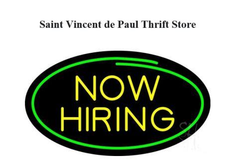 St. Vincent de Paul job posting