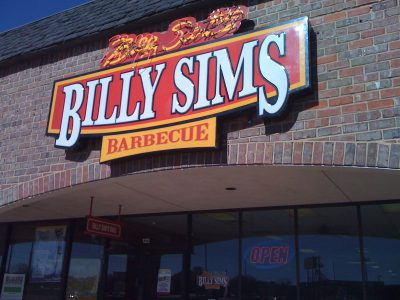 Billy Sims restaurant opening in West Bend