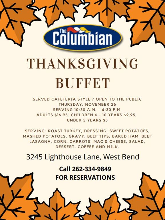 Thanksgiving at The Columbian