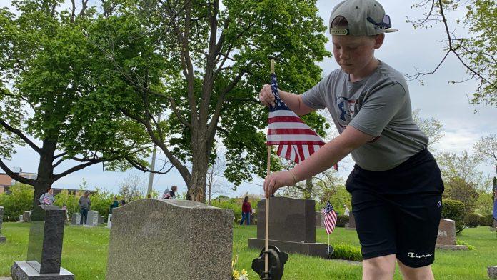 Memorial, flag, armed forces, veteran