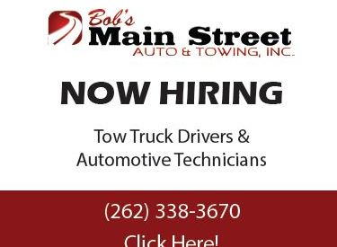 Bob's Main Street Auto is hiring