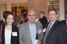 Lisa Mundt, AOC Key Solutions; Tim Conway, NTT DATA; Rick Dansey, Terathink Corp.