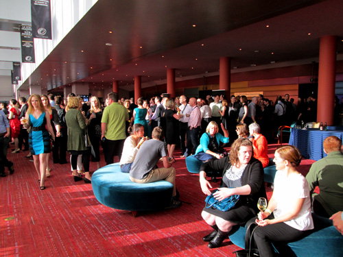 SIFF patrons fill McCaw Hall.