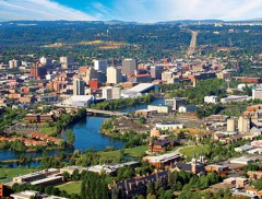 Urban Landscape of Spokane