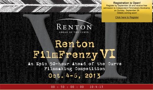 RentonFilmFrenzyPoster-siff