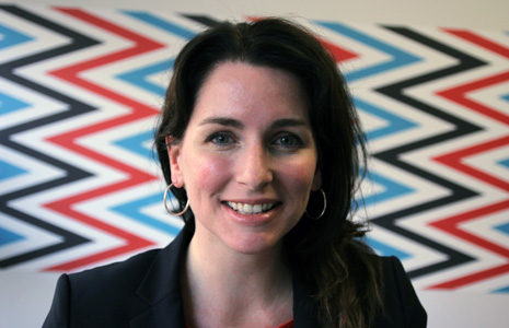 Stefanie Malone settles into her new role as NFFTY Managing Director. Photo courtesy of NFFTY.