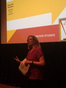 Amy Lillard discusses the Magnuson Studios proposal.