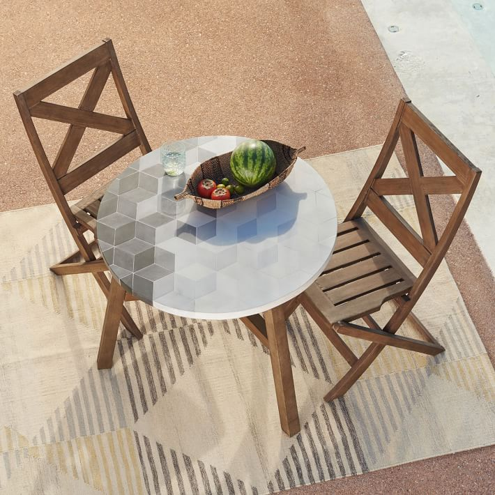 7 outdoor bistro sets for your teeny