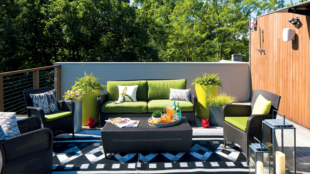 Roof Deck Inspiration: A Grown-Up Treehouse in Arlington on Deck Inspiration  id=86255