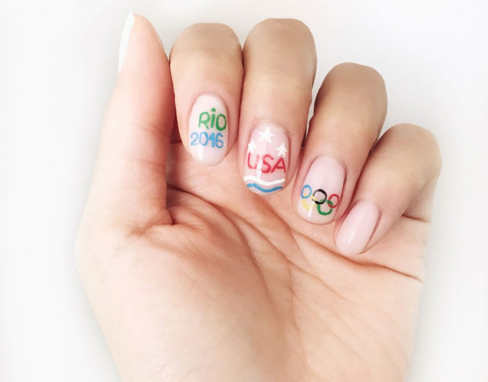 5 Dc Salons Where You Can Get Your Own Olympics Inspired Nail Art