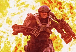 "Tom Cruise stars in sci-fi action flick, ""Edge of Tomorrow."""