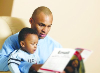 By most measures, black fathers have proven to be just as involved with their children as other dads in similar living conditions — or more so — according to the latest study released in July by the Centers for Disease Control and Prevention's National Center for Health Statistics in Atlanta. (Courtesy of blackbluedog.com)
