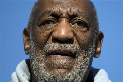 This Nov. 11, 2014, file photo shows entertainer and Navy veteran Bill Cosby speaking during a Veterans Day ceremony, at the The All Wars Memorial to Colored Soldiers and Sailors in Philadelphia. (AP Photo/Matt Rourke, File)