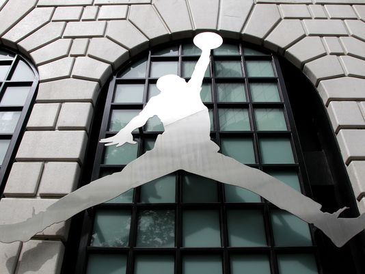 first rate 439f4 e5eb0 Nike s Air Jordan brand started in 1984 with shoes for Michael Jordan.  (Rick Bowmer AP Photo)