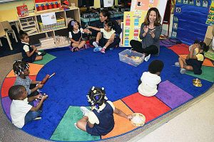 Educators say bilingualism is linked to enhanced academic and social skills. /Courtesy of DCPS via the Hechinger Project