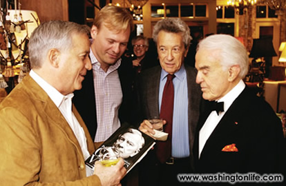 Walter Isaacson, John Dickerson, Gerald Rafshoon and Jack Valenti